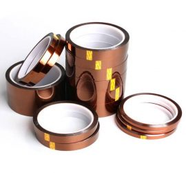 10جنيه  5mm*33m Kapton Tape High Temperature Heat Resistant Polyimide